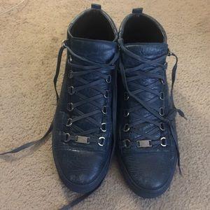 COPY - Men's Blue Balenciaga arena sneakers size …